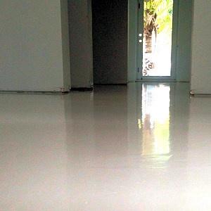 rengøring af betongulv