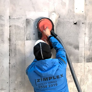 sodskade på beton